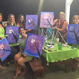 Ossining PTA Painting For A Good Cause