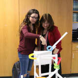 Lakeland H.S. Students Build Paper Roller Coasters