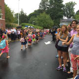 Students At Darien's Royle Begin School Year With Parade Of Learners