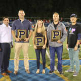 Panas Honors Hall Of Famers At Football Game