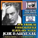 Fort Lee Film To Celebrate John Barrymore's Birthday