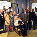 Westchester Veteran Presented With Medals Earned In WWII