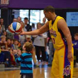 Harlem Wizards Play At John Jay Sports Boosters' Fundraiser