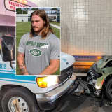 NY Jets Player Crashes Wrong-Way Car Into Jitney In Lincoln Tunnel