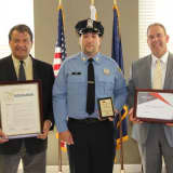 Officer Who Saved Westchester Motorcyclist's Life Honored