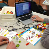 Lego WeDo, Scratch Software Design Event At Newton's C.H. Booth Library