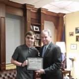 Rockland County Executive Ed Day Honors Clarkstown Student For Logo Design