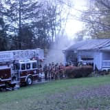 Six Departments Battle House Fire In Mahopac