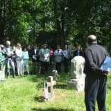 Civil War Regiment Remembered At African American Cemetery In Rye
