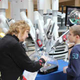 White Plains Shoppers Learn About Robotic Surgery Technology