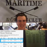 World Record Still Sinking In For St. Luke's Rower From Ridgefield