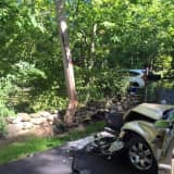 New City Fire Department Responds To Car Accident