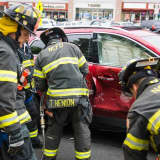 New City FD Uses Jaws Of Life In Rescue After Two-Car Accident