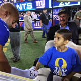 New York Giant Mark Herzlich Tackles Cancer In Clifton