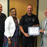 Norwalk PD Congratulates Officers Of The Month