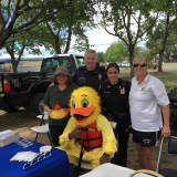 Norwalk Police Take Part In Water Safety Day At Calf Pasture Beach