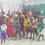 Norwalk Company Collects Kids Shoes For Cameroon Tennis Academy