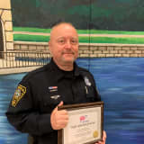 Norwalk PD Officer Named Northeast Traffic Safety Hero Of Year