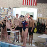 Olympic Gold Medal Swimmers Dive In With Clinic For Darien Y Piranhas