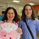 Pocantico Hills Students Craft Valentines For Briarcliff Senior Citizens