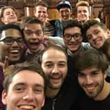Britain's A Cappella Group Out  of the Blue Returns To New Rochelle High
