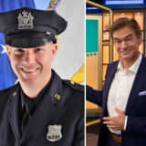 Dr. Oz Helps Port Authority PD Resuscitate Stricken Traveler At Newark Airport