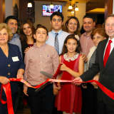 Astorino Tastes Homestyle Cuisine At Reopening Of Port Chester's T&J Eatery
