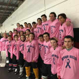 Byram Hills Faces Fox Lane In Annual 'Pink The Rink' Game