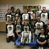 Carmel Robotics Team Earns Rookie Inspiration Award