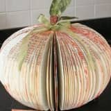 Turn An Old Book Into A Pumpkin Craft At Bloomingdale Library