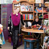 Craftivism & Charitable Knitting Spark Projects At Newtown's Sheep Shoppe