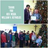 Legislator Honors Msgr. William V. Reynolds Of St Anthony's In Nanuet