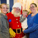 Santa Claus Answers Leukemia Patient's Wish To Meet Mickey Mouse