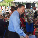 Seniors Kick Off Summer With Pool Party, Visit From Astorino
