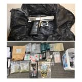 Bloods Gang Member Busted With Gun, Drugs During Raid In Norwalk