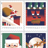 USPS Unveils Info On Holiday Prices, Deadlines, Unveils Santa Claus Stamps