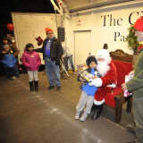 Santa Pays Special Visit To Peekskill For Holiday Season Kickoff