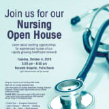 Norwalk Hospital Hosts Open House For Nurses On Oct. 6
