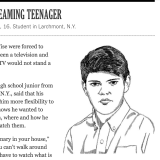 It's iPhone Over TV, Larchmont Teen Tells New York Times