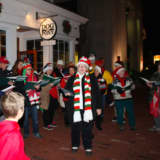 Ridgefield Residents Step Out For A Holiday Community Stroll