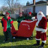 Oradell Fireman Spread Holiday Cheer