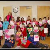 Pleasantville Third-Graders Celebrate Valentine's Day At Senior Center