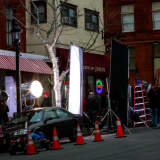 Actress Sarah Jessica Parker Filming New TV Show 'Divorce' In Tarrytown