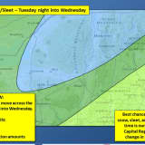 Complex Storm System To Impact Mount Pleasant This Week
