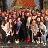 Tony Winner Joanna Gleason Visits 'Into The Woods' Cast At New Canaan High