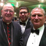 Yorktown Supervisor Chats With New York Archbishop At Fundraising Dinner