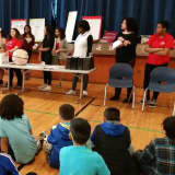 Brien McMahon Students Deliver Heart-Felt Message To Elementary Kids