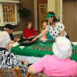 Waveny LifeCare Network's Adult Day Program Enjoys Casino Day