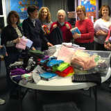 New Canaan Church Women Make Kits For Lutheran World Relief