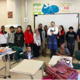 Peekskill Middle School Students Learn About Poetry Through Cooking